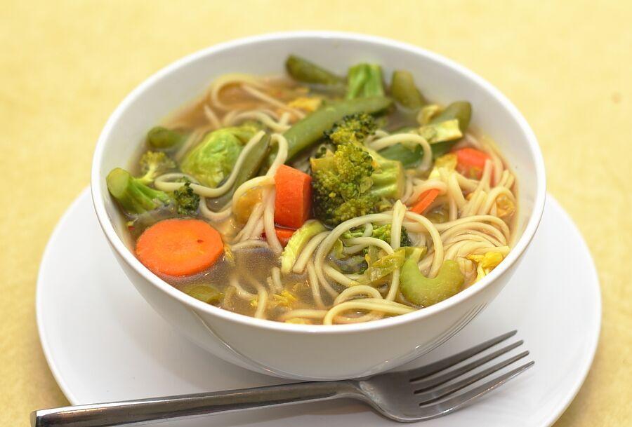 Immune Boosting Udon Noodle Soup